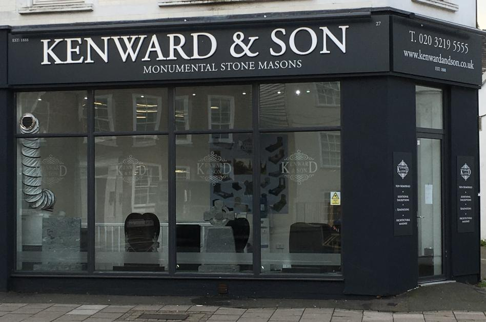 Kenward and Son Kingston Branch