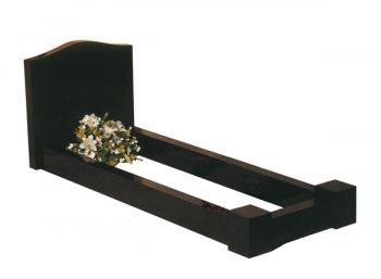 *Special Offer*Full black granite memorial - Stock Memorials - Kenward and Son memorial