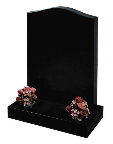 *Special Offer* 2'6 Black granite lawn memorial memorial
